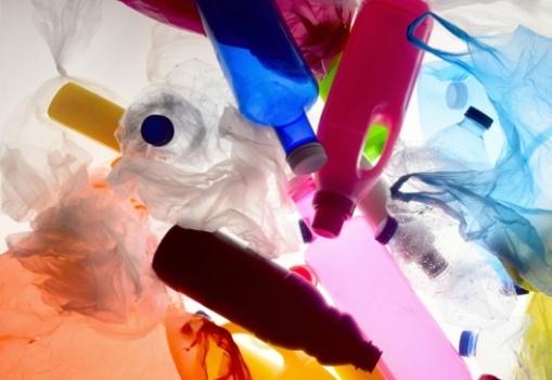 An image of jumbled plastic trash