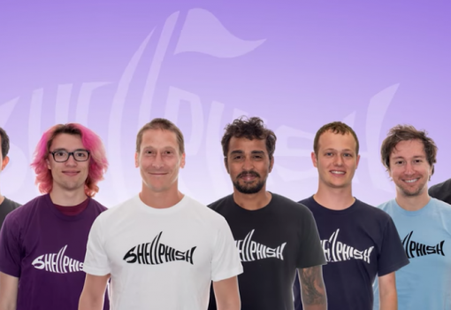Photo of team Shellphish