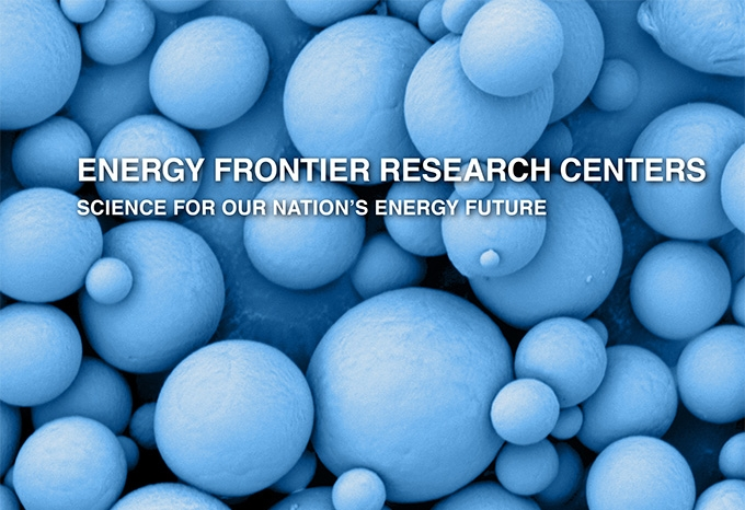 Cover of a 2016 Energy Frontiers Research Centers booklet
