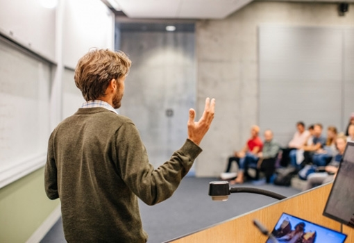 Summer GRIT talks feature leading UCSB faculty discussing the the inspiration for their research and the impact it has.