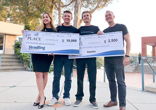 2019 New Venture Competition winners, Allthenticate