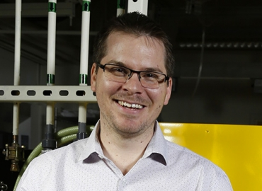 Assistant Professor Alban Sauret.