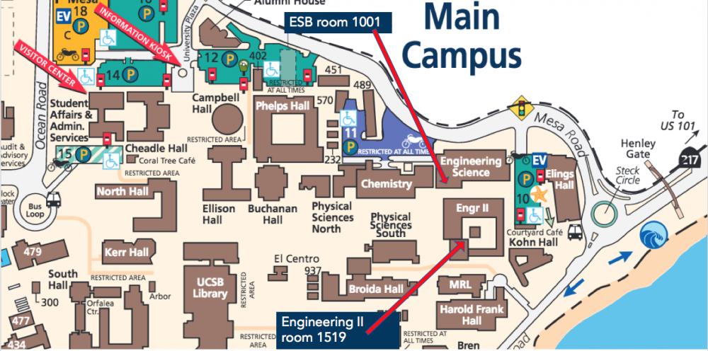 ESB/Engr II Map