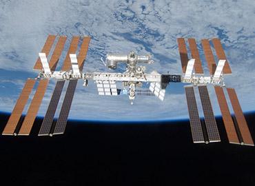 International Space Station, courtesy of NASA