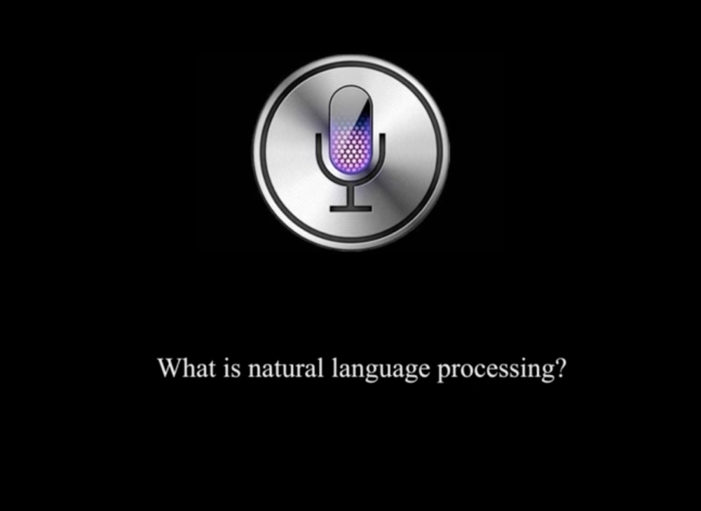Siri: What is Natural Language Processing?