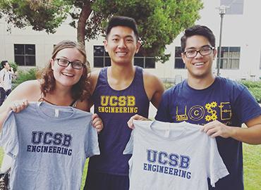 UCSB Engineering students
