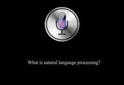 Siri Screen: What is natural language processing?