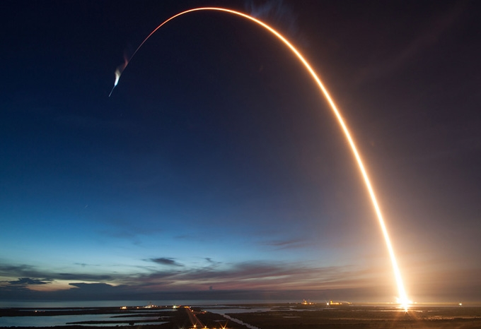 SpaceX CRX-5  take_off from Cape Canaveral