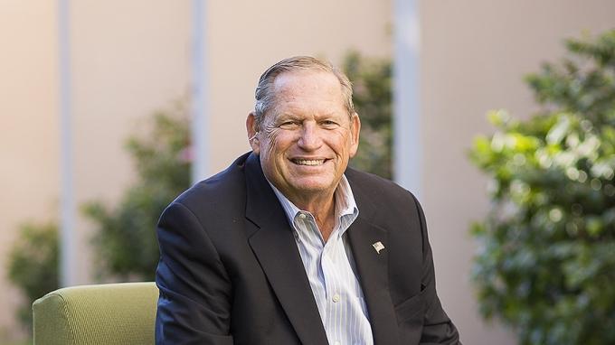 Alumnus and Champion of Engineering Steve Cooper